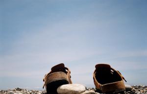 鞋子想要晴天