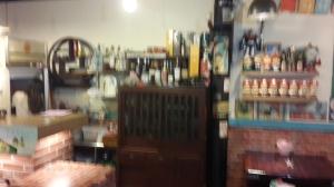 夯店懷舊的菜櫃