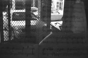 一個充滿音樂的畫面